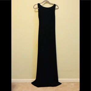 Long Backless Dress by Laundry size 8